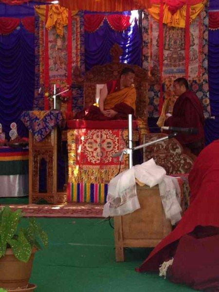 Tulku in TanaMonastery